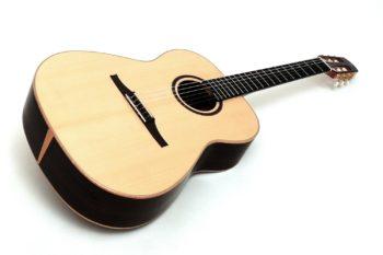 crossover gitarre nylonsaiten 14 bund crossover großer korpus gitarrenbauer stoll