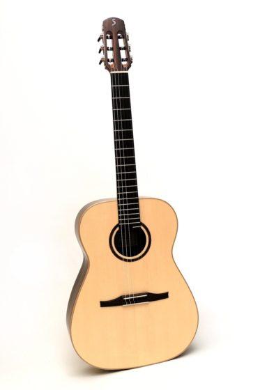 ssover akustik gitarre 14 bund crossover großer korpus gitarrenbauer stoll