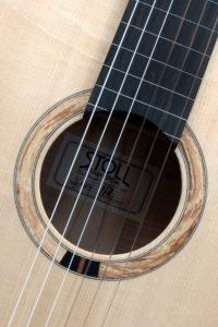 teilbundiert semi-fretted Griffbrett klassische Konzertgitarre