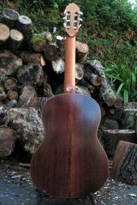 Klassische Gitarre Boden und Zargen aus Burma-Palisander