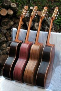 Konzertgitarre Classic Line I - Korpushölzer aus Burmapalisander, indische Walnuss, Veilchenholz, Palisander
