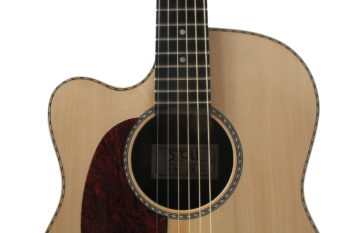 Gitarrenbau Christian Stoll: Linkshänder-Gitarre mit Cutaway