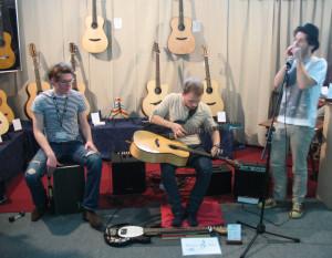 Max & Pierre Musikmesse 2013 Stoll Guitars