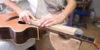 Fotostory Neubundierung Akustikgitarre