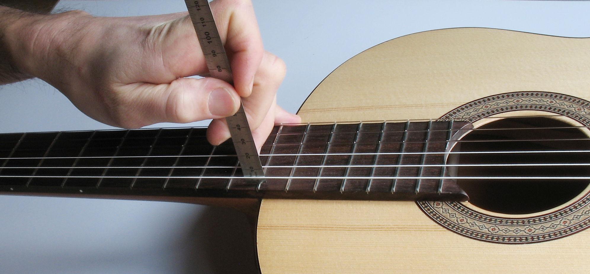 seiten der gitarre
