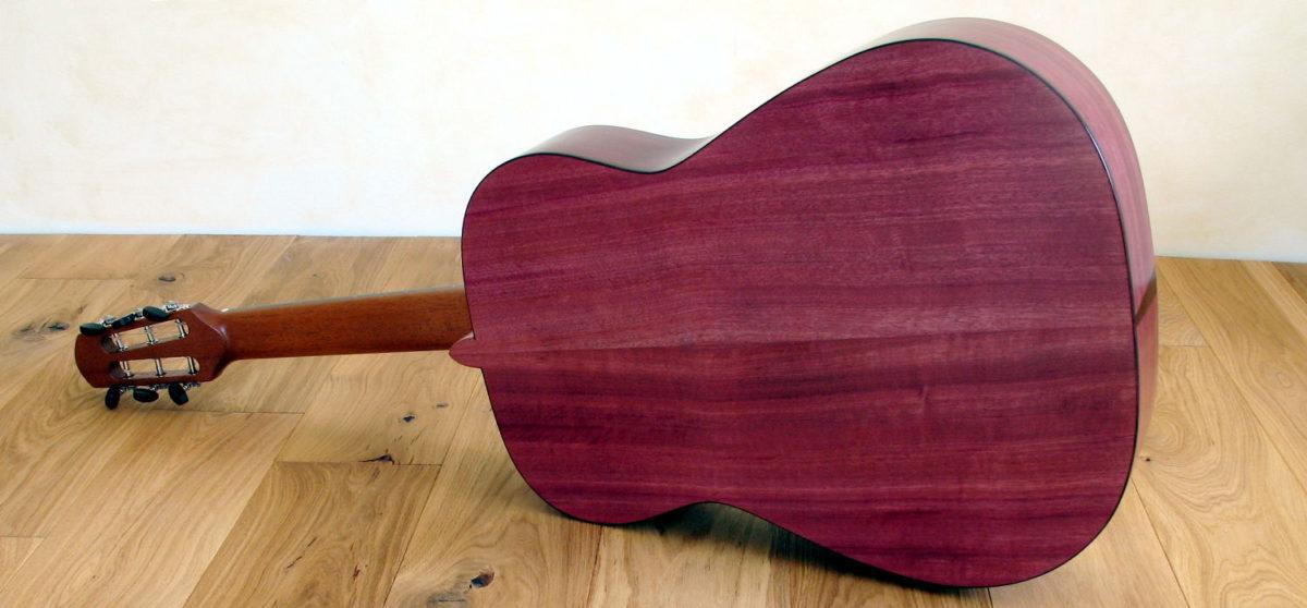 stahlsaiten gitarre veilchenholz amaranth modell ambition