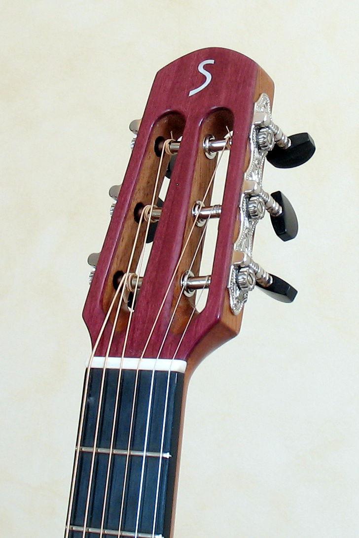steelstring gitarre aus veilchenholz amaranth. Black Bedroom Furniture Sets. Home Design Ideas