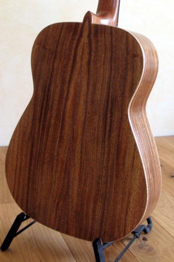 stahlsaiten-gitarre zeder indische walnuss - boden