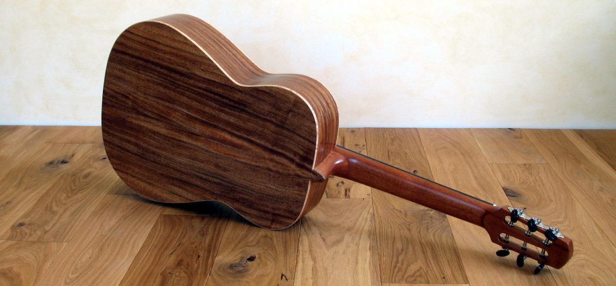 stahlsaiten-gitarre zeder indische walnuss