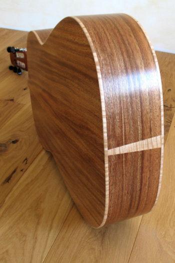 stahlsaiten-gitarre zeder indische walnuss - zarge