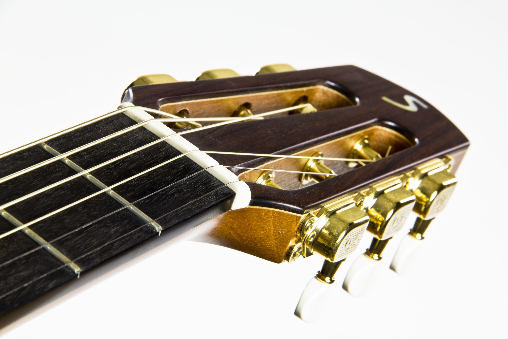 aus Echtem Brücke Sattel Stegeinlage Ersatz zum Klassisch Akustikgitarre