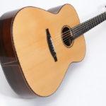 Gitarrenbau Christian Stoll: Stahlsaiten-Gitarre S-Custom - Rio-Palisander quer
