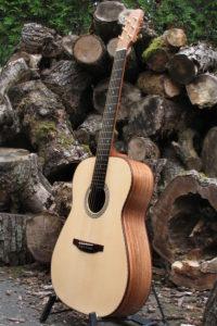 Stahlsaiten Gitarre indische Walnuss: Ambition