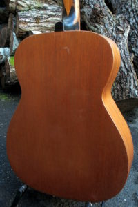 Stahlsaiten-Gitarre Fender Acoustic - Boden