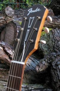 Stahlsaiten-Gitarre Fender Acoustic - Kopf