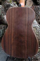 Stahlsaiten-Gitarre Fingerstyle Mensur 63 Korpus amerikanische Walnuss - Boden