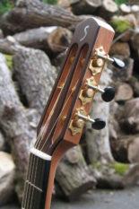 Stahlsaiten-Gitarre Fingerstyle Mensur 63 Korpus amerikanische Walnuss mit Schaller Grand Tune Mechaniken