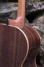 Stahlsaiten-Gitarre Fingerstyle Mensur 63 Korpus amerikanische Walnuss Decke Sitka Sinkerwood