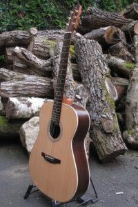 Stahlsaiten Gitarre indischer Palisander: Ambition