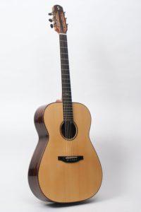 Gitarrenbau Christian Stoll: Stahlsaiten-Gitarre S-Custom - Rio-Palisander - Decke Sitkafichte