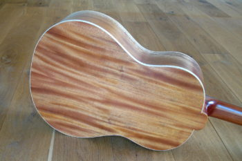 Steelstring Reisegitarre Vollmahagoni spalted Pt69 travel