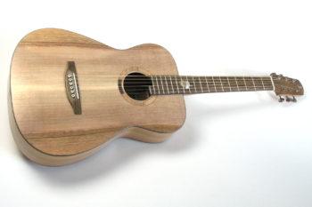 Westerngitarre Fingerstyle Blues Stahlsaitengitarre Steelstring einheimische Hölzer: Walnuss Mooreiche