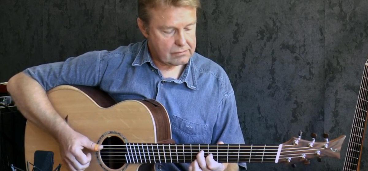 IQ Bariton Stahlsaitengitarre Frank Schreiber Albatross Fleetwood Mac