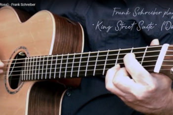 IQ Bariton Stahlsaitengitarre Frank Schreiber King Street Suite Don Ross