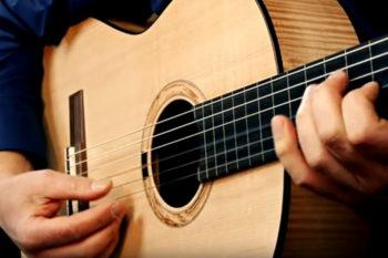 semi-fretless klassische Gitarre Primera Custom