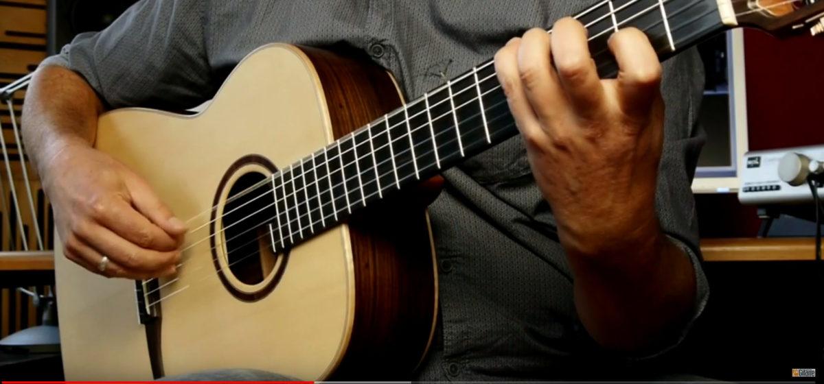 classic crossover video test stoll gitarrenbau