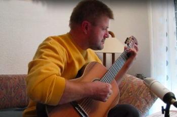 Gitarrenbau Christian Stoll: Konzertgitarre Estudio - Klaus T Tarréga Etuede no 1