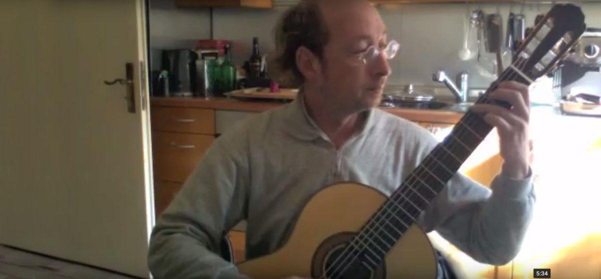 Gitarrenbau Christian Stoll Solistengitarre Classic Line Pro - Stefan Jeremias Albéniz Asturias