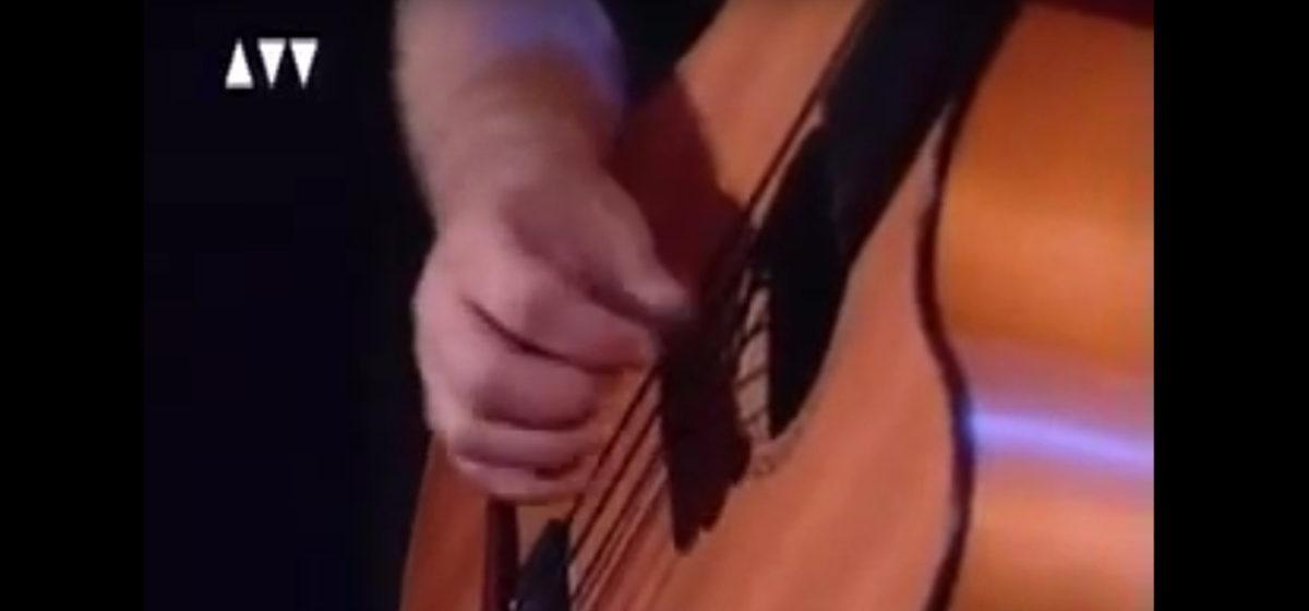 video Der legendäre Stoll Akustikbass Ralf Gauck - Message in a Bottle