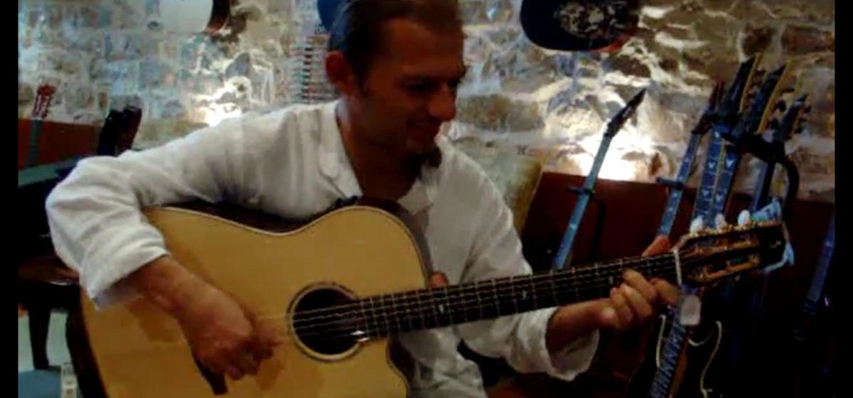 video Western Stahlsaitengitarre stoll Ambition Fingerstyle Dimitris Makris