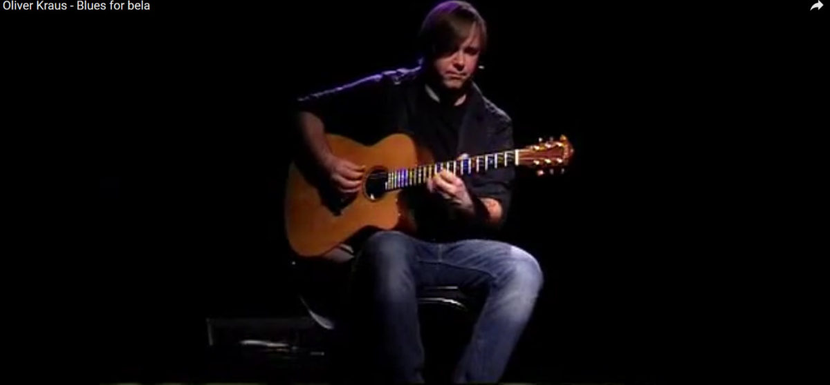 video western stahlsaiten gitarre Ambition Oliver Kraus - Blues for bela