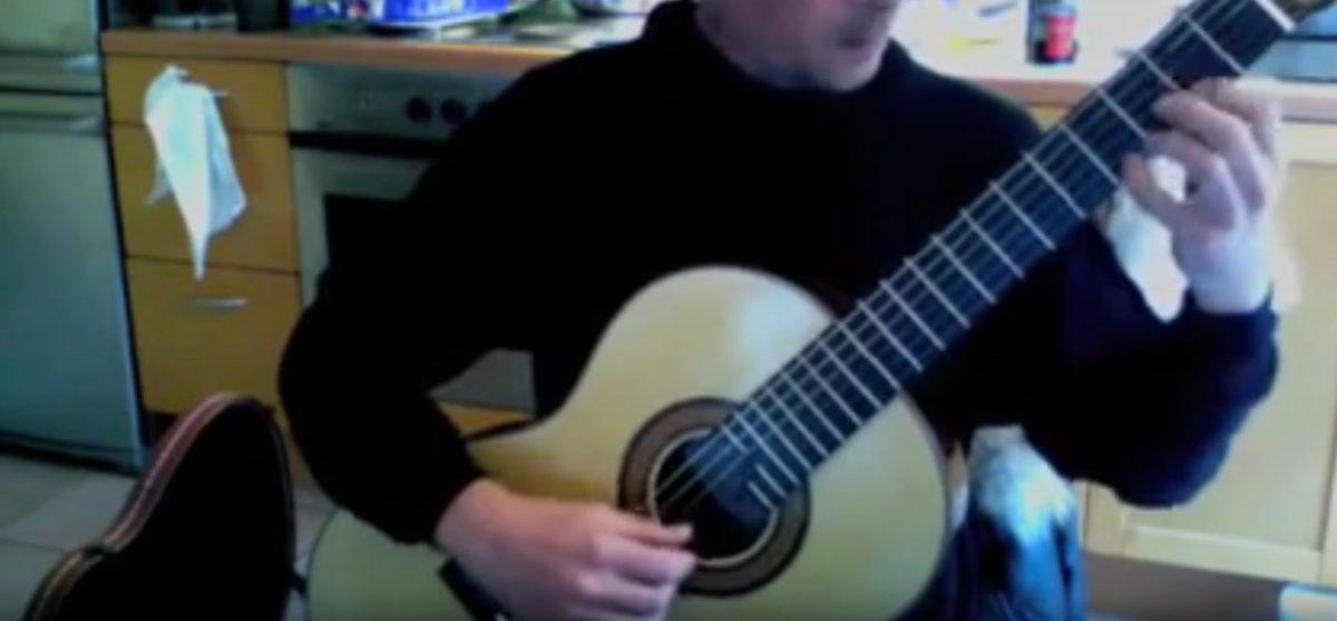 video Konzertgitarre Stoll Classic Line Pro Stephan Jeremias - Bach