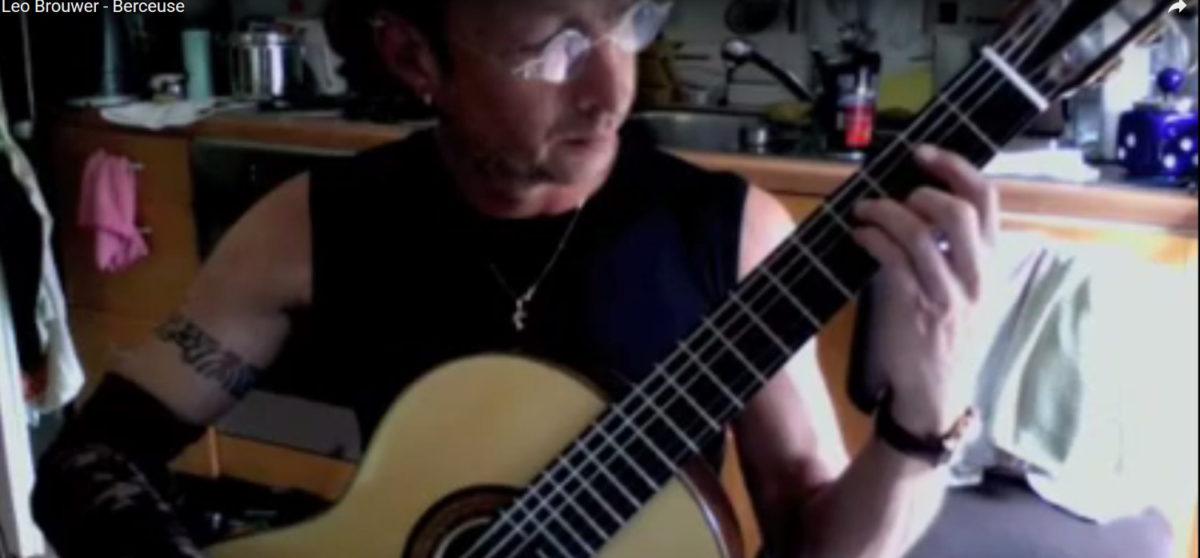 video Konzertgitarre Classic Line Pro Stephan Jeremias - Berceuse, Leo Brouwer