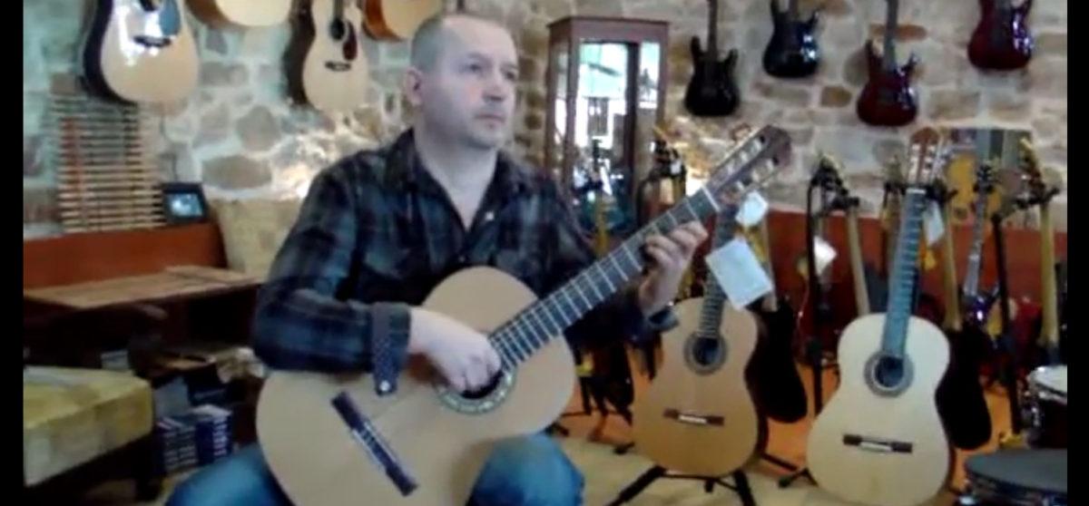 Video Klassikgitarre Estudio Custom Alexis Bagias: Study No. 5 Fernando Sor