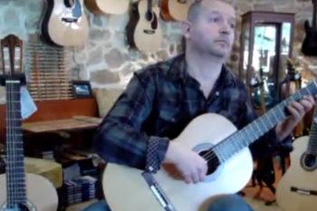 Video Konzertgitarre Primera Custom: Alexis Bagias: Gianni mou to mantili sou
