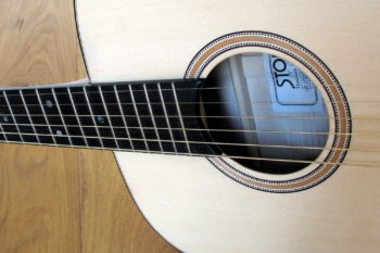 Western Gitarre breiter Hals 48 mm