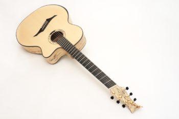 tamarinde jumbo western gitarre fanned frets bevel zargenschalloch gitarrenbauer christian stoll