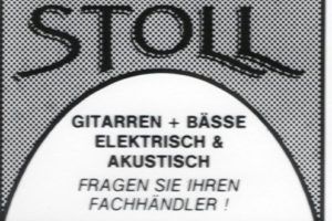 """1987 Advertisement: In action quickly shows the lack of this draft: The upward stroke of the """"T"""" is disturbing. It interrupts the arc, built by the sub-lengths of """"S"""" and """"L""""."""