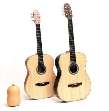 12 fret acoustic guitar rosewood mahogany 63 scale butternought stoll luthier