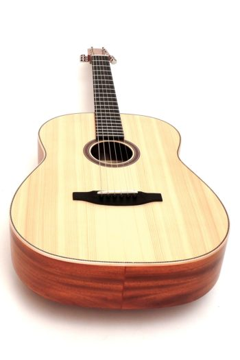 12 fret acoustic guitar mahogany 63 scale butternought stoll luthier