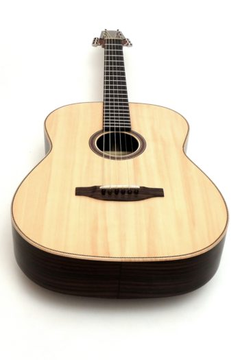 12 fret acoustic guitar rosewood 63 scale butternought stoll luthier
