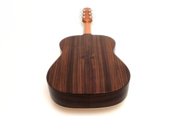12 fret acoustic guitar rosewood back 63 scale butternought stoll luthier