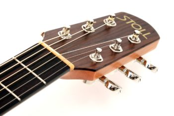12 fret acoustic guitar rosewood head 63 scale butternought stoll luthier