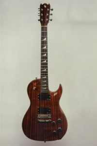 1983: Paulette, Christian Stolls very first E-Guitar