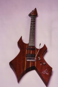 1984: The first custom made guitar by STOLL