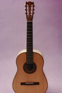 1984 Classical guitar: Student´s model during the first years